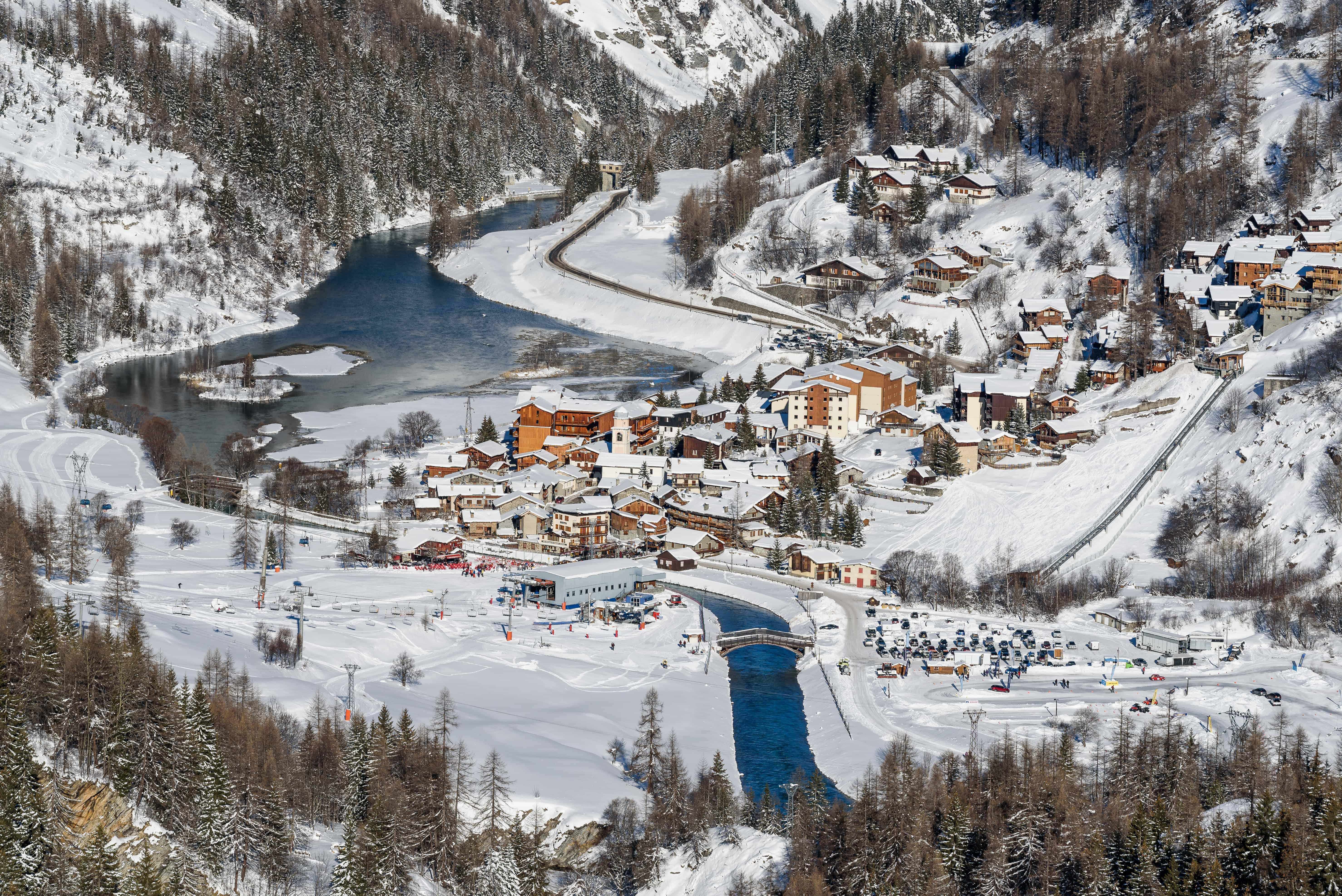Le ski à Tignes Les Brévières