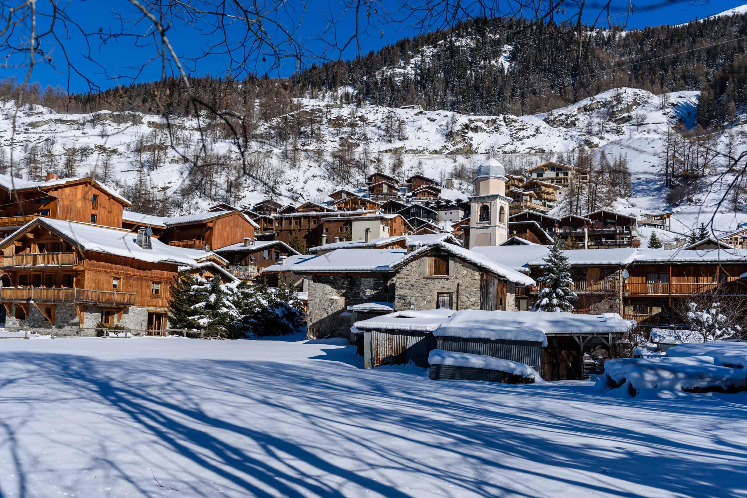 Tignes Les Brévières, la station de ski