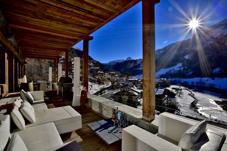 Chalet de luxe avec terrasse à Tignes