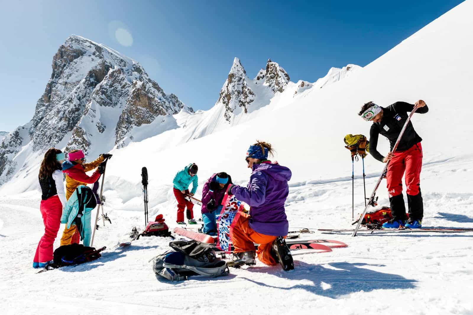 Le ski de fond à Tignes sans remontées mécaniques