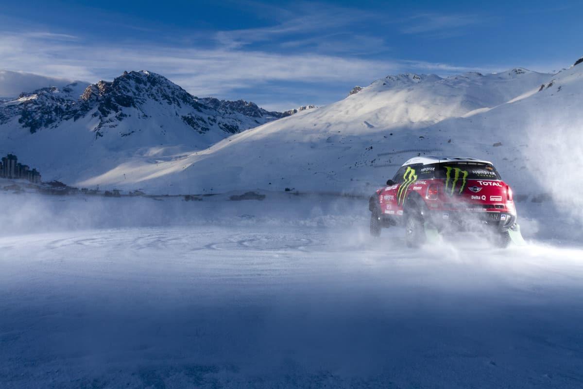 La conduite sur glace à Tignes sans remontées mécaniques